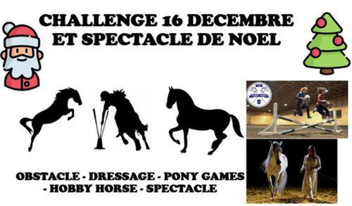 Challenge et spectacle de Noel