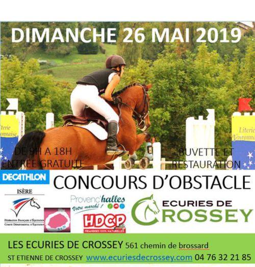 CSO 26 MAI - finale départementale poney